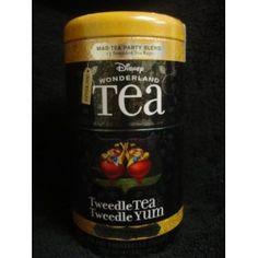 Disney wonderland tea set - TweedleTea and TweedleYum -- the set with the largest amount of mad hatter tea blend -- http://www.amazon.com/Disney-Wonderland-TweedleTEA-TweedleYUM-Shortbread/dp/B005FSSAXG/ref=sr_1_3?s=grocery&ie=UTF8&qid=1325697630&sr=1-3