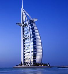 Burj Al Arab - The only 7 star hotel in the world. Luxury beyond words.