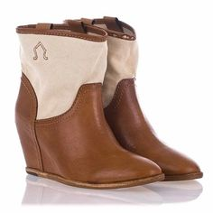 Cute wedge boots...and this site!!!