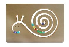 Ginga Kobo Toys | Rakuten Global Market: GLASS BEADED SNAIL Wooden Toys (Ginga Kobo Toys) Japan