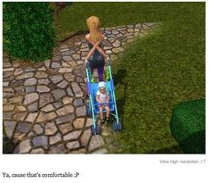 This skilled mother. | 29 Times The Sims Went Horribly, Hilariously Wrong