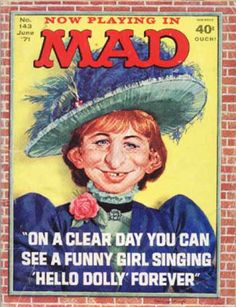 Funny Girl - Hello Dolly - Clear Day - Feathery Hat - Woman