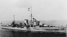 HMS Ajax was a Leander-class light cruiser which served with the British Royal Navy during World War II.