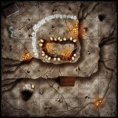 Dungeon Tiles - Shaman'sDen by SaintJG.deviantart.com on @deviantART