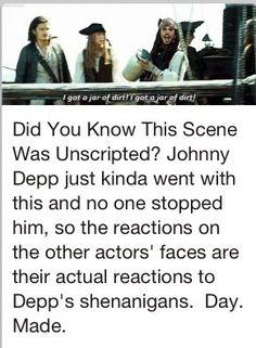 I love Jonny Depp