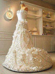 wow wedding cake!