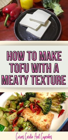 This is an easy way for beginners to make tofu that has a meaty texture.  How to cook crispy tofu in the air fryer, oven or pan fried to be like chicken, steak or ground beef.  Recipe ideas for a vegan sandwich using your vegan tofu steak.  The best tips for making tofu ground beef that's vegan for tacos or spaghetti.  Tofu meat replacement ideas for healthy vegetarian recipes for dinner.  Seasoning ideas to make tofu taste like chicken, steak, or ground beef. Clean Eating Recipes For Dinner, Vegetarian Recipes Dinner, Healthy Eating Tips, Vegan Dinners, Healthy Recipes, Tofu Steak, Chicken Steak, Cooking Tofu, Vegetarian Lunch
