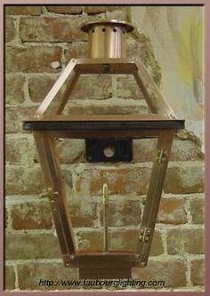 Faubourg Lighting: Gas Lantern