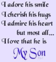 46 Best Mommy And Son Quotes Images Thinking About You Sons Thoughts