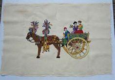 sicily cart cross stitch - Bing images