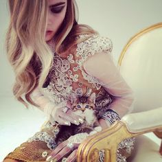 Catsparella: Impossibly Cute Kitten Outshines Model In Fabergé Photo Shoot