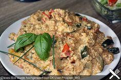 Gemüse-Kräuter-Pfanne mit Hirse