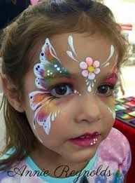 Image result for facepaint butterfly