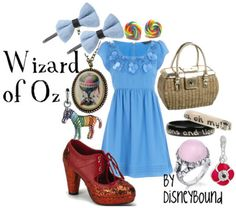 "Wizard of Oz - this girl's blog is incredible with Disney inspired ""real"" outfits! follow the pin to her site"