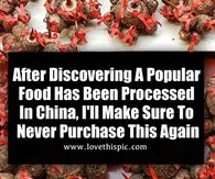 After Discovering A Popular Food Has Been Processed In China, I'll Make Sure To Never Purchase This Again