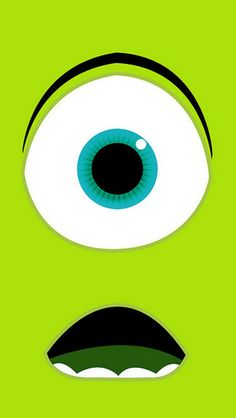 Monsters University - Mike Wazowski iPhone 5C / 5S wallpaper
