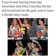 Miss Universe 2015, Miss Columbia, Miss Philippines, Steve Harvey, meme