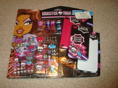 Monster High Decorating Kit DIY For Ipod Touch by ShoppingLounge