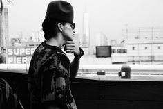 Robert Geller SS15 New York Backstage photographed by Jae Foo ❤️