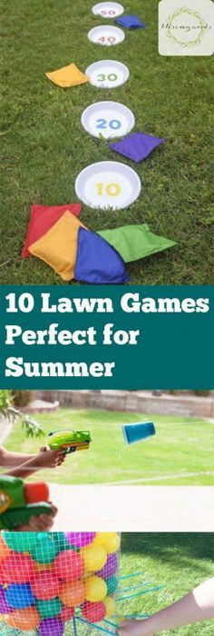 10 lawn games perfect for summer fun lawn games outdoor activites outdoor activites for kids kid stuff outdoor kid activites outdoor games fun outdoor games outdoor party game ideas popular pin 25 winter activities for boys Outdoor Activities For Adults, Outdoor Fun For Kids, Summer Activities For Kids, Fun Activities, Kid Activites, Children Activities, Outdoor Camping, Diy Camping, Outdoor Play