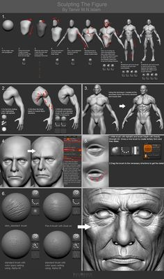 Web Digital Graphic Design and Printing : Resources for Zbrush Tutorials, Alphas, Brushes, . Zbrush Tutorial, 3d Tutorial, Zbrush Character, Character Modeling, Character Art, Character Concept, Modeling Techniques, Modeling Tips, Sculpting Tutorials