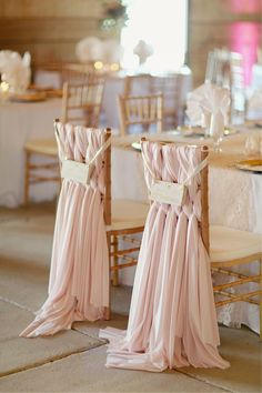 Creative Ideas To Spruce Up Your Reception Chairs » Alexan Events | Denver Wedding Planners, Colorado Wedding and Event Planning