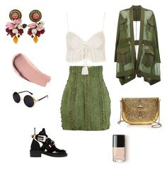 """Rebel"" by futuraocculto ❤ liked on Polyvore featuring Balmain, From St Xavier, Dolce&Gabbana, Topshop, Balenciaga, Burberry and goldgreen"