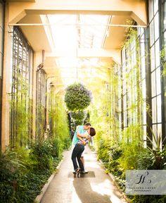 Longwood Gardens engagement photographer | Philadelphia + Bucks County Wedding Photography