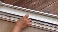 Clean WIndow Tracks with the Great Residential Cleaning Business in Aurora Oh House Cleaning Tips, Diy Cleaning Products, Cleaning Solutions, Spring Cleaning, Cleaning Hacks, Sliding Door Track, Sliding Glass Door, Sliding Doors, Sliding Windows