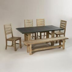 One of my favorite discoveries at WorldMarket.com: Brooklyn Dining Collection
