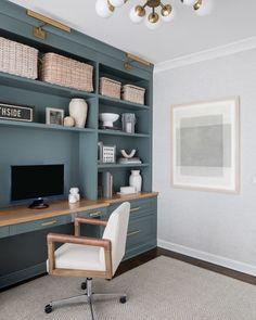 13 Beautiful Home Office Ideas Home Office Desks, Home Office Chairs, Home Theater Rooms, Home, Home Office Layouts, Home Office Colors, Creative Home, Work Office Decor, Office Design
