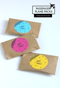 TRAVELLING WITH KIDS :: NEON GIFT PACKS