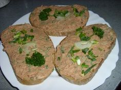 Czech Recipes, Russian Recipes, Ethnic Recipes, Snack Recipes, Cooking Recipes, Snacks, Guacamole, Pesto, Baked Potato