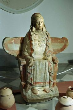 Spain) - example of ancient Iberian art with apparent Phoenician influences. Ancient Aliens, Ancient Rome, Ancient Greece, Iron Age, Historical Artifacts, Ancient Artifacts, Estilo Tribal, Ancient Mysteries, Tribal Art