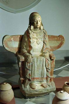 dama de baza. museo arqueológico de madrid. spain