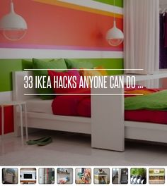 Genius Hacks for home storage! @kovinkova 33 Ikea #Hacks Anyone Can do ... → DIY #Storage