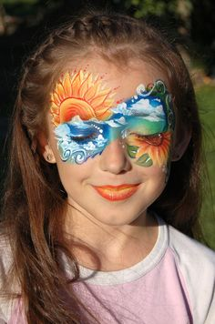 Here Comes the Sun - Face Painting Competition - Winners Announced