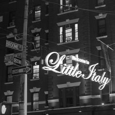 Welcome to Little Italy by shotfromthegut