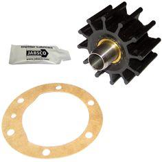 """Jabsco Impeller Kit - 12 Blade - Nitrile - 2-¼"""" Diameter - https://www.boatpartsforless.com/shop/jabsco-impeller-kit-12-blade-nitrile-2-diameter/"""