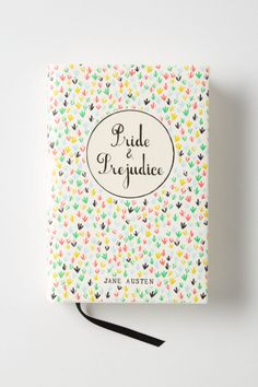 oooh, loving this inspiring cover! >>Mr. Boddington's Penguin Classics, Pride & Prejudice - Anthropologie.com