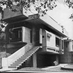 Leonardo Ricci_Villa Taddei, Fiesole, Italy (1964)