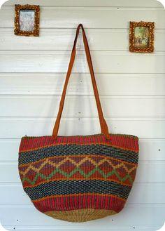 Vintage LEDER / BAST Tasche Handtasche Bag Folklore Hippie Schultertasche Ethno in Kleidung & Accessoires, Damentaschen | eBay