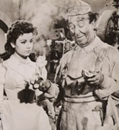 babes in toyland 1961 | Annette Funicello and Ed Wynn in Walt Disney's Babes in Toyland (1961)
