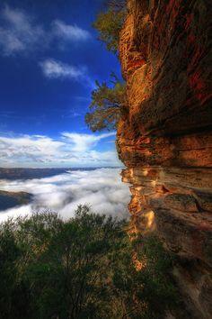 Blue Mountains National Park, Australia.  Photo: Felix Haryanto
