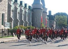 Royal Canadian Mounted Police- Pipe Band.