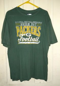 Green Bay Packers T-Shirt NWT Size Large L NFL Team Apparel  NFLTeamApparel    f0ede533c