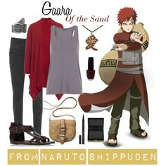 Naruto Shippuden Gaara of the Sand Outfit