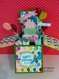 Birthday in a Box! Createwithcheryl.me