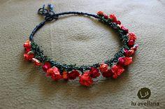 corona rojo-naranjo