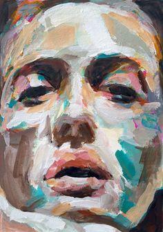 W.DECHANT - 27.4.2015 - 17 x 24 cm - acrylic / paper - NEXT TOMORROW